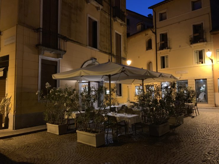 Storico ristorante nel cuore del centro storico di Vicenza
